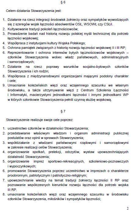 Regulamin Stowarzyszenia str. 2