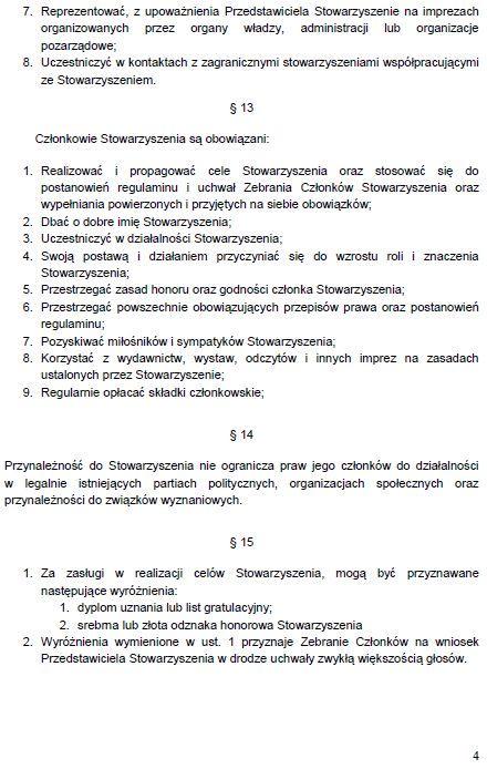 Regulamin Stowarzyszenia str. 4