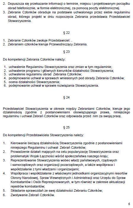 Regulamin Stowarzyszenia str. 6