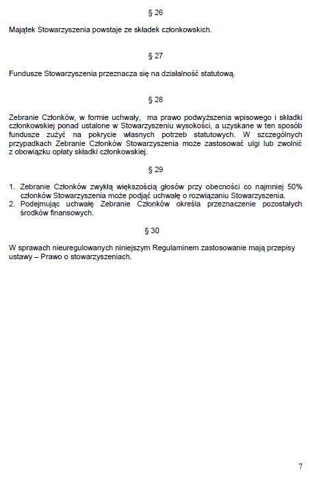 Regulamin Stowarzyszenia str. 7